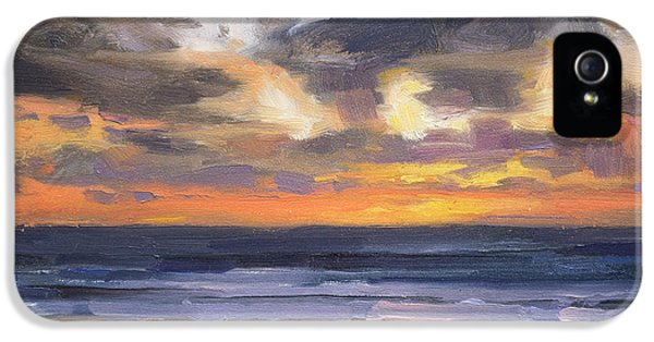 Pacific Ocean iPhone 5 Case - Eventide by Steve Henderson