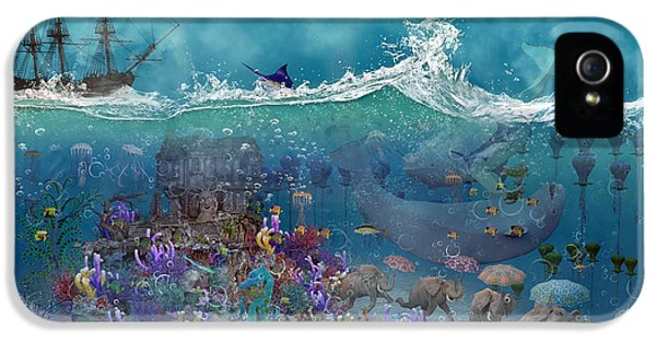 Everything Under The Sea IPhone 5 Case