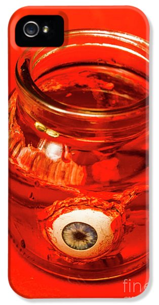 Eyeball iPhone 5 Case - Everything You Know Is A Leye by Jorgo Photography - Wall Art Gallery