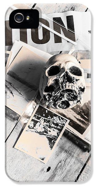 Evidence Of Old Crimes IPhone 5 Case by Jorgo Photography - Wall Art Gallery