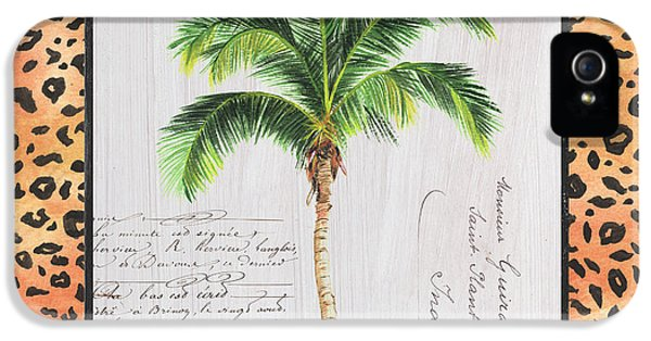 Exotic Palms 1 IPhone 5 Case by Debbie DeWitt