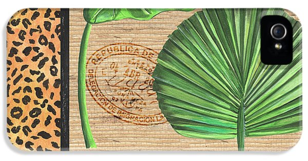 Exotic Palms 2 IPhone 5 Case by Debbie DeWitt