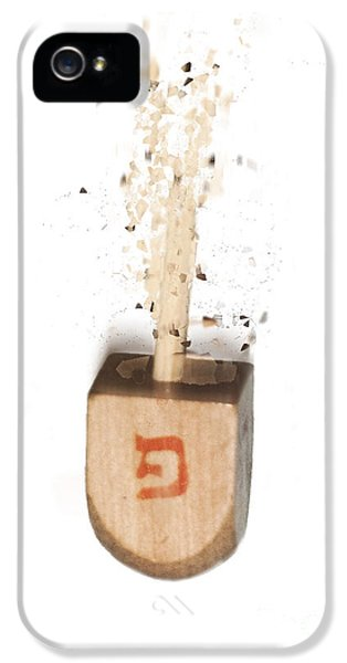 exploding Dreidel IPhone 5 Case