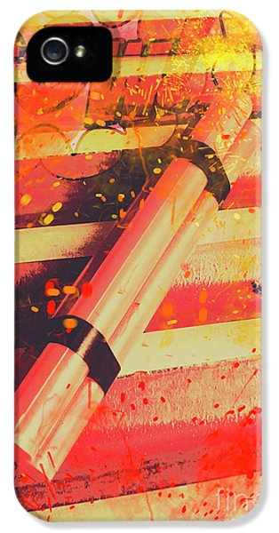 Explosive Comic Art IPhone 5 Case by Jorgo Photography - Wall Art Gallery