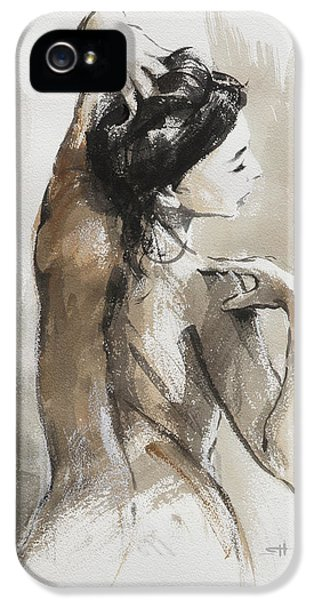 Nudes iPhone 5 Case - Expression by Steve Henderson