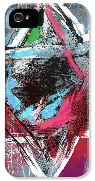 Expressionist Star Of David- Art By Linda Woods IPhone 5 Case