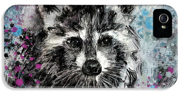 Expressive Raccoon IPhone 5 Case