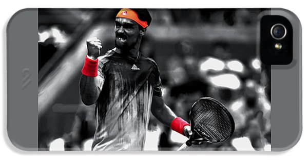 Fabio Fognini IPhone 5 Case by Brian Reaves