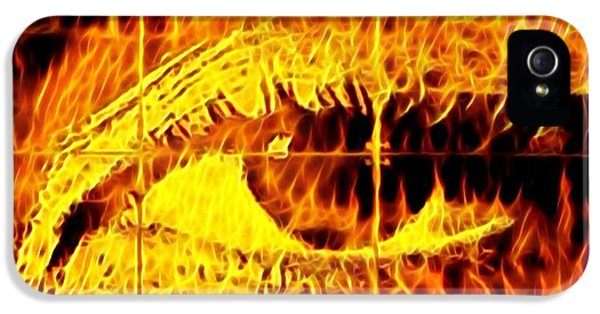 Face The Fire IPhone 5 Case