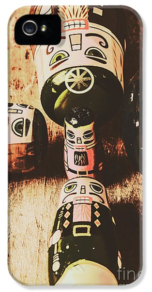 Faded Old Toys From A Vintage Past IPhone 5 Case by Jorgo Photography - Wall Art Gallery