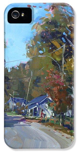 Fall In Glen Williams On IPhone 5 Case by Ylli Haruni
