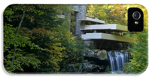 Fallingwater IPhone 5 Case by Bill Bachmann