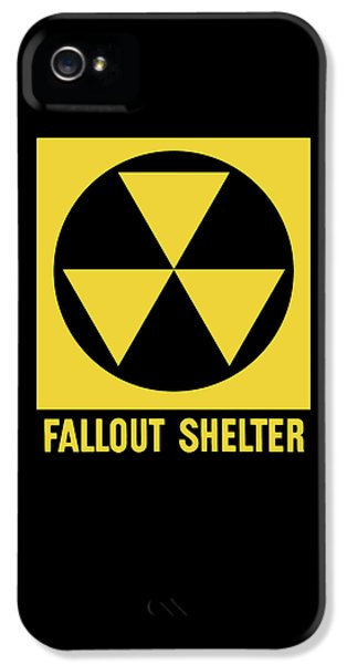 Fallout Shelter Sign IPhone 5 Case