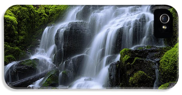 Falls IPhone 5 Case by Chad Dutson