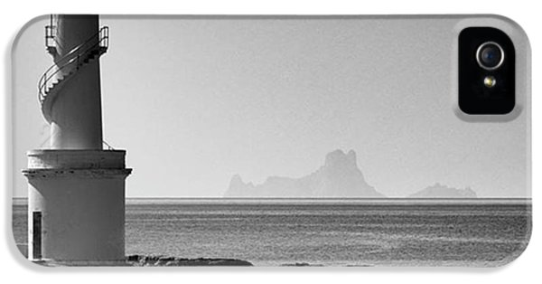 iPhone 5 Case - Far De La Savina Lighthouse, Formentera by John Edwards