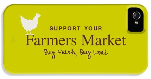 Farmers Market IPhone 5 / 5s Case by Nancy Ingersoll