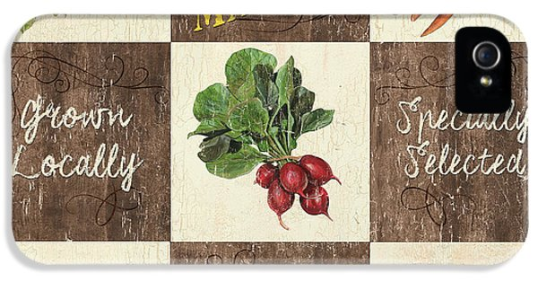 Farmer's Market Patch IPhone 5 Case by Debbie DeWitt
