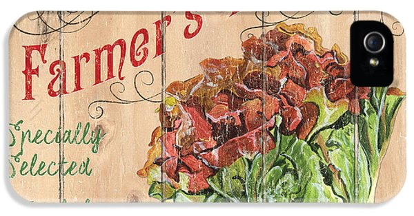 Farmer's Market Sign IPhone 5 Case by Debbie DeWitt