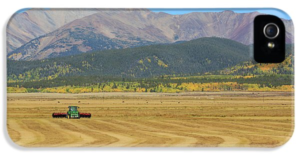 IPhone 5 Case featuring the photograph Farming In The Highlands by David Chandler
