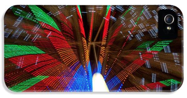 Farris Wheel Light Abstract IPhone 5 Case