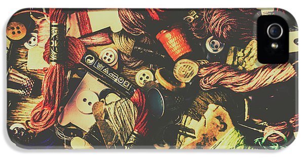 Fashion Designers Desk  IPhone 5 Case by Jorgo Photography - Wall Art Gallery