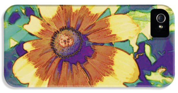IPhone 5 Case featuring the photograph Feeling Groovy by Karen Shackles