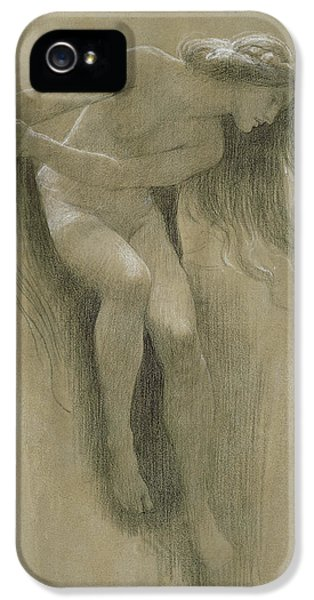 Female Nude Study  IPhone 5 / 5s Case by John Robert Dicksee