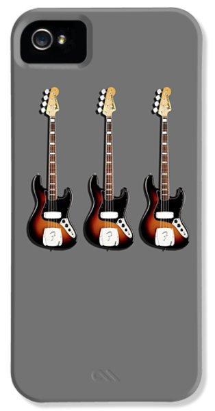 Fender Jazzbass 74 IPhone 5 Case by Mark Rogan
