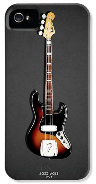 Guitar iPhone 5 Case - Fender Jazzbass 74 by Mark Rogan