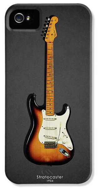 Guitar iPhone 5 Case - Fender Stratocaster 54 by Mark Rogan