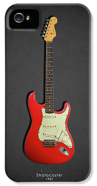 Guitar iPhone 5 Case - Fender Stratocaster 63 by Mark Rogan