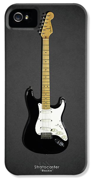 Eric Clapton iPhone 5 Case - Fender Stratocaster Blackie 77 by Mark Rogan