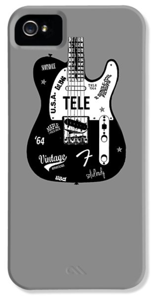 Fender Telecaster 64 IPhone 5 Case by Mark Rogan