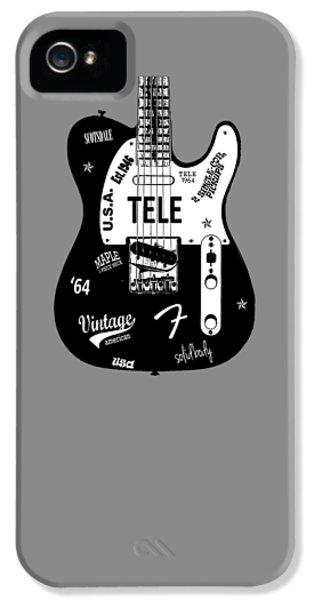 Fender Telecaster 64 IPhone 5 / 5s Case by Mark Rogan