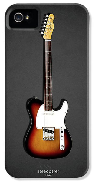 Guitar iPhone 5 Case - Fender Telecaster 64 by Mark Rogan
