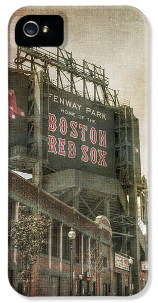 Fenway Park Billboard - Boston Red Sox IPhone 5 Case