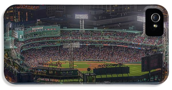 Babe Ruth iPhone 5 Case - Fenway Park by Bryan Xavier