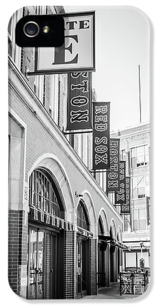 Fenway Park Gate E Entrance Black And White Photo IPhone 5 Case