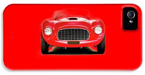 Ferrari iPhone 5 Cases - Ferrari 166 iPhone 5 Case by Mark Rogan