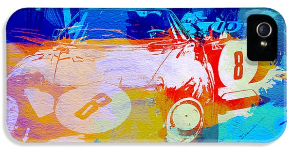 Ferrari Pit Stop IPhone 5 Case by Naxart Studio