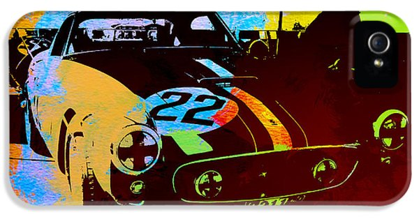 Ferrari Watercolor IPhone 5 Case by Naxart Studio
