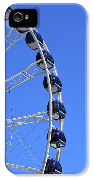 Ferris Wheel At Navy Pier, Chicago No. 1 IPhone 5 Case by Sandy Taylor