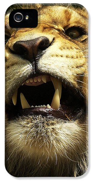Fierce IPhone 5 / 5s Case by Wade Aiken