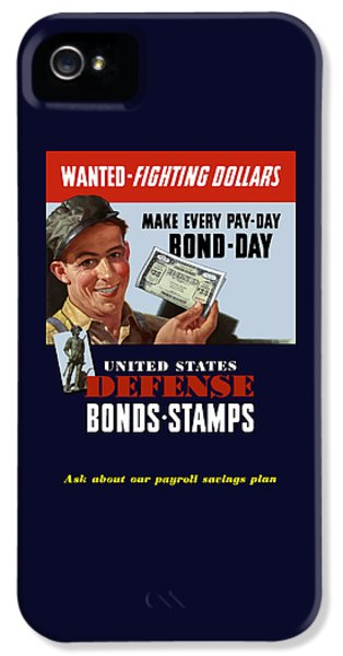 Fighting Dollars Wanted IPhone 5 Case