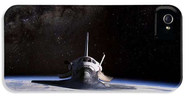 Final Frontier IPhone 5 Case by Peter Chilelli