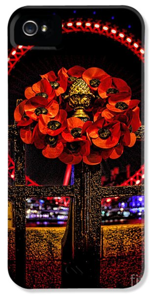 Final Salute IPhone 5 Case by Jasna Buncic