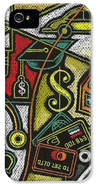 Finance And Medical Career IPhone 5 Case by Leon Zernitsky