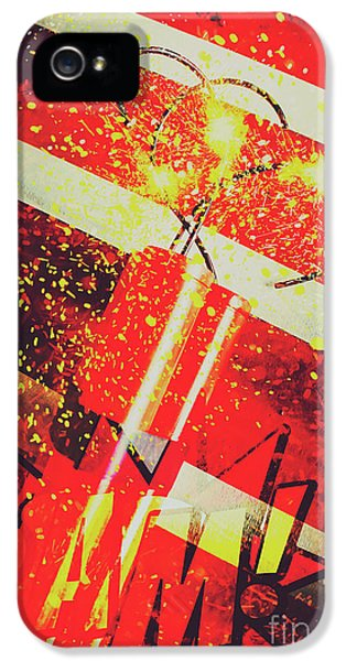 Financial Meltdown Coming Soon IPhone 5 Case by Jorgo Photography - Wall Art Gallery