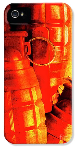 Fire In The Hole IPhone 5 Case by Jorgo Photography - Wall Art Gallery