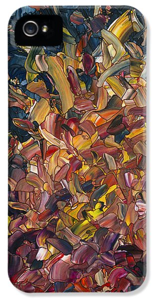 Fire IPhone 5 Case by James W Johnson